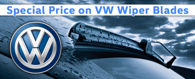Special Price on VW Wiper Blades