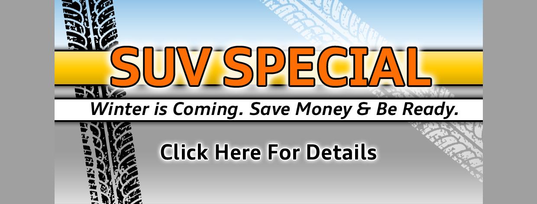 SUV Specials