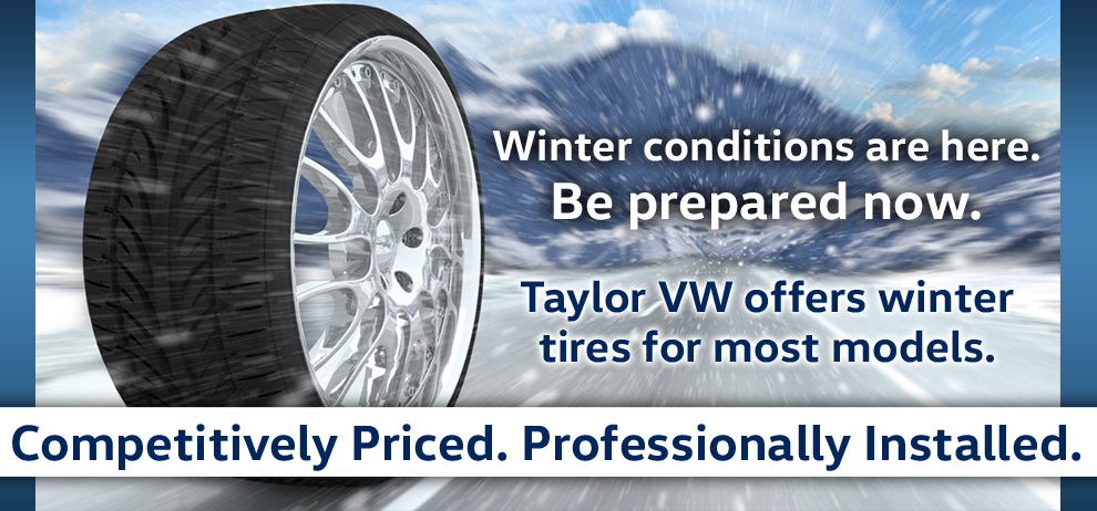 Winter conditions are here. Be Prepared now!