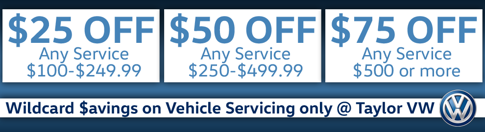 Wild Card Coupon $avings on Servicing