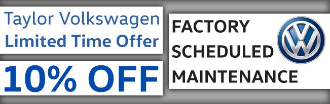 10% off Factory Schedule Maintenance