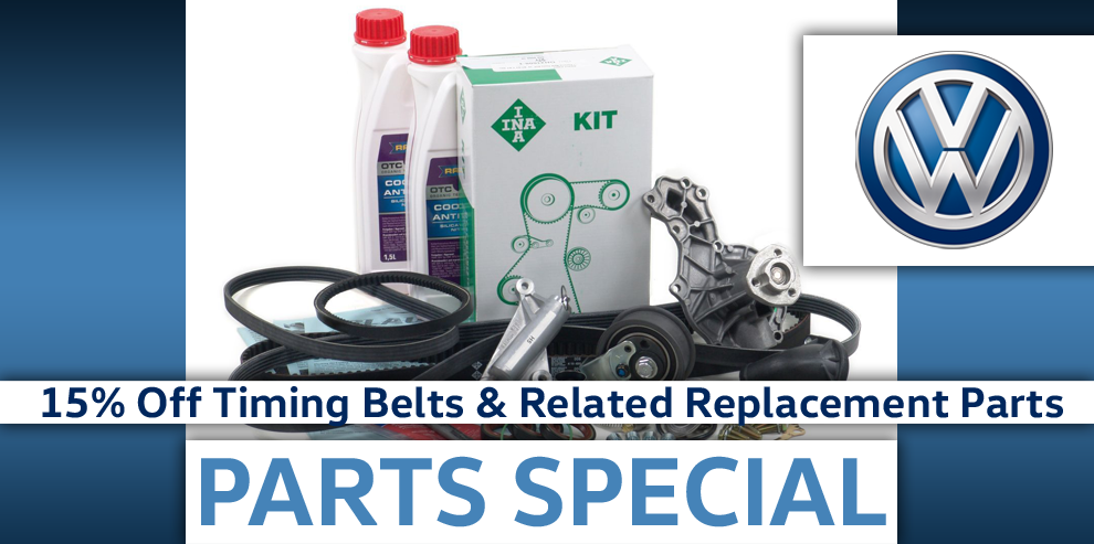 Save $$ on Timing Belts & Related Parts!