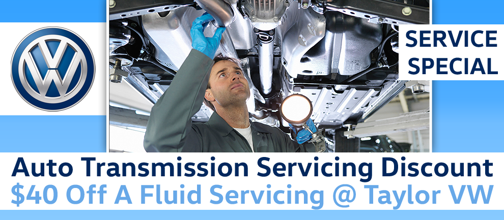 $40 Auto Transmission Fluid Service Discount