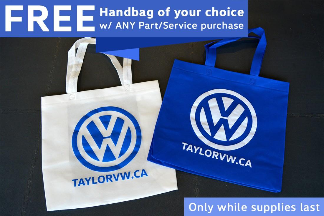 FREE Taylor VW Handbag