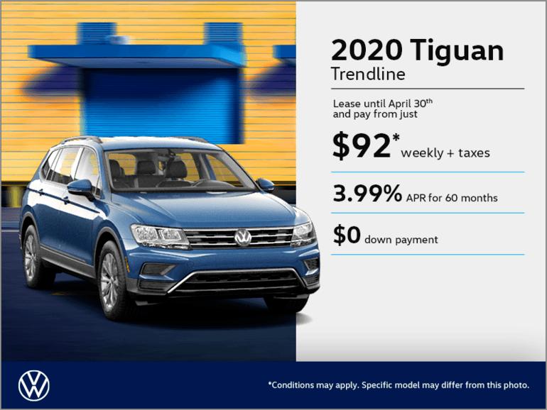 Get the 2020 Tiguan!