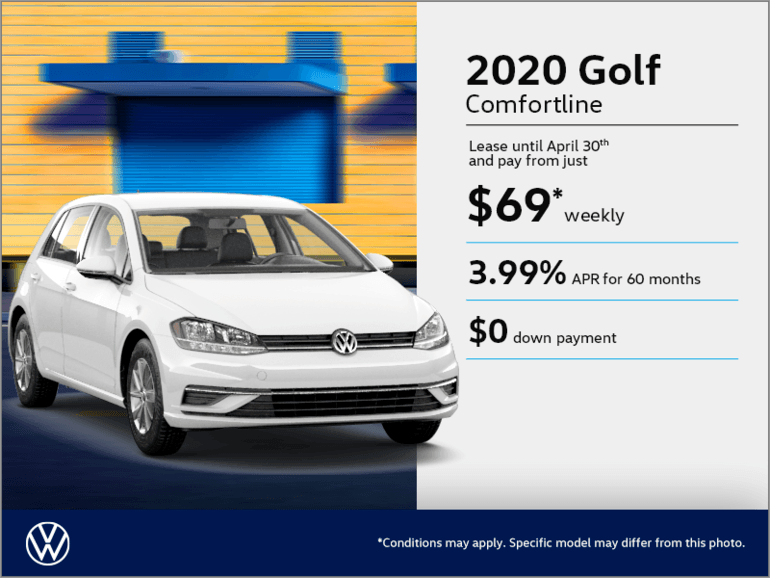 Get the 2020 Golf!