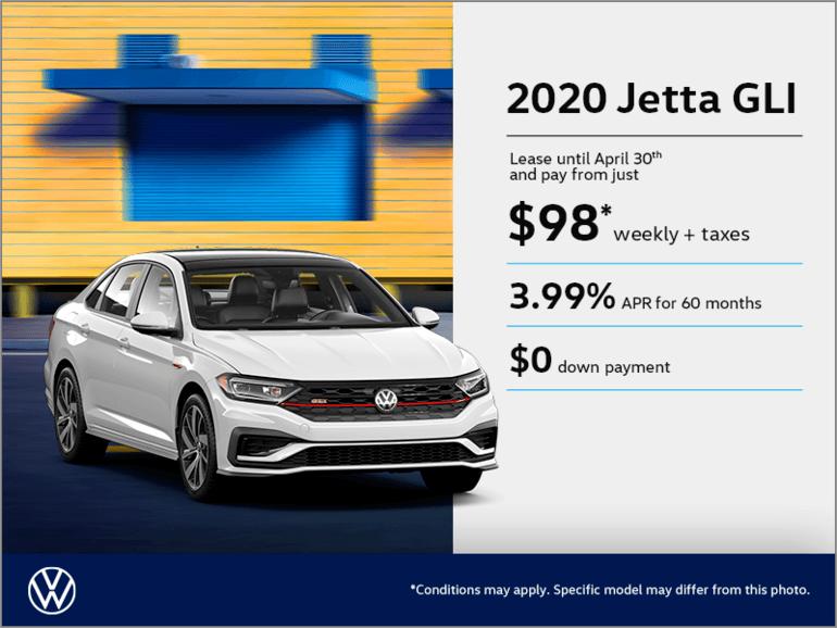 Get the 2020 Jetta GLI