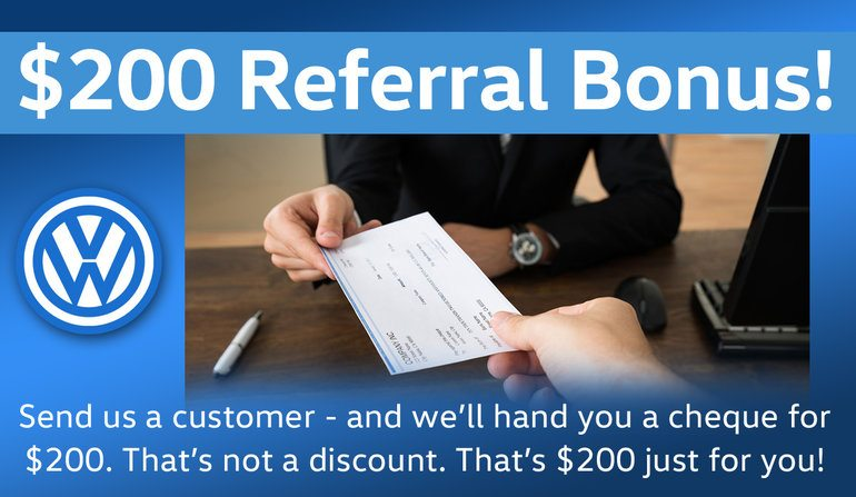 $200 Referral Bonus