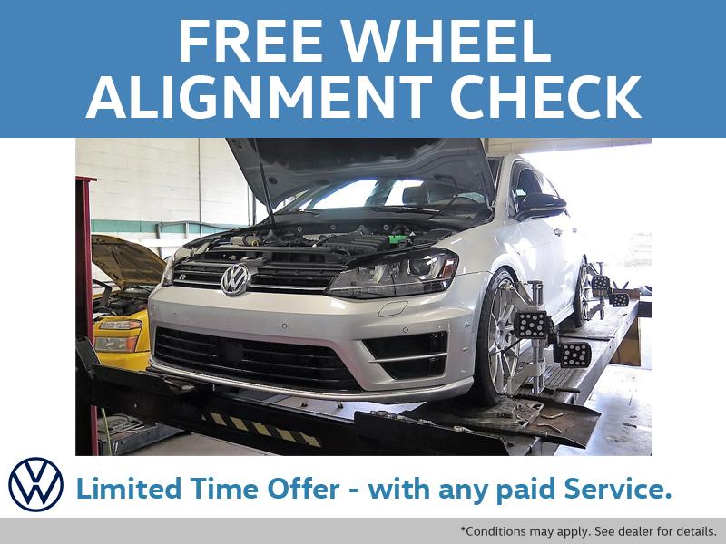 Free Wheel Alignment Check