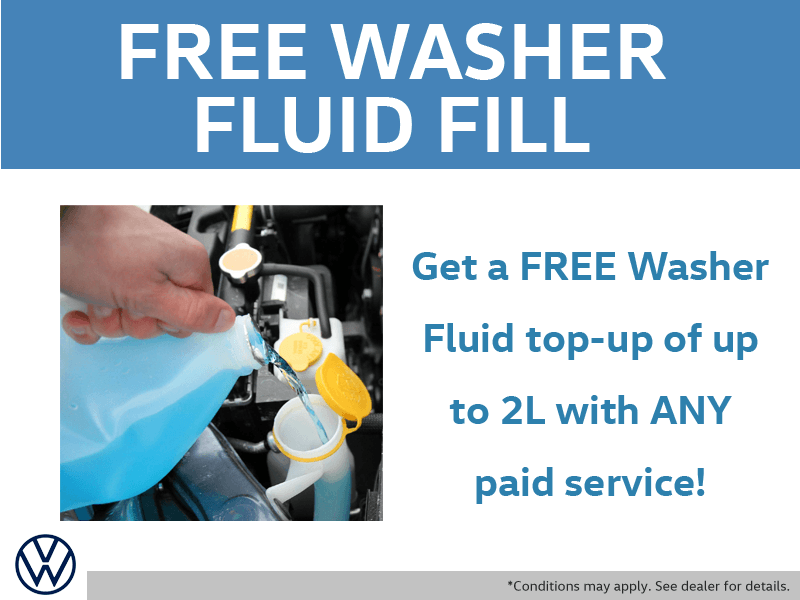 Free Washer Fill with Paid Service