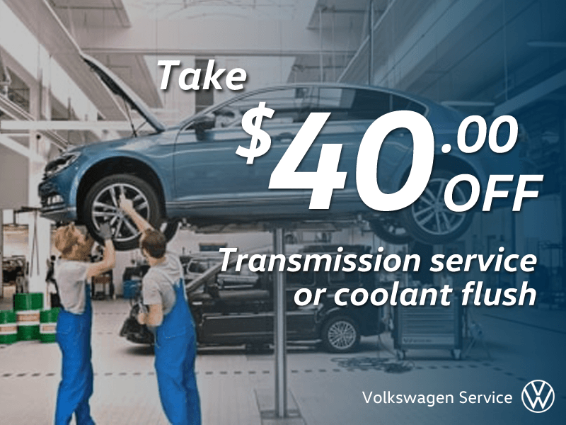 Save $40 on Transmission Service or Coolant Flush
