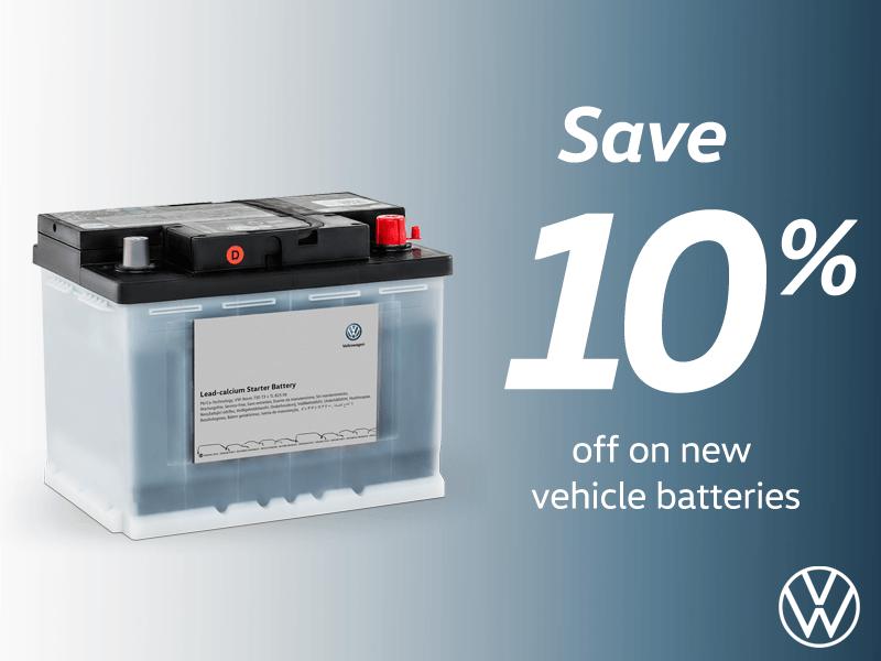 Save on Vehicle Batteries