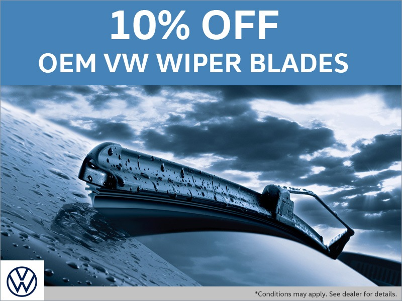 Save on VW OEM Wipers