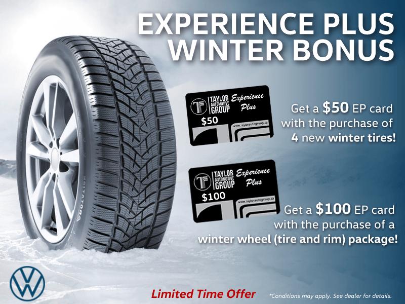 Experience Plus Winter Bonus