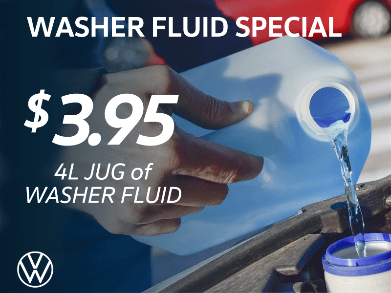Washer Fluid Special