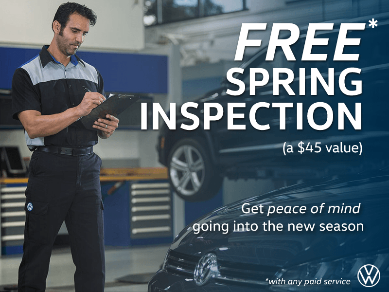 FREE Spring Inspection