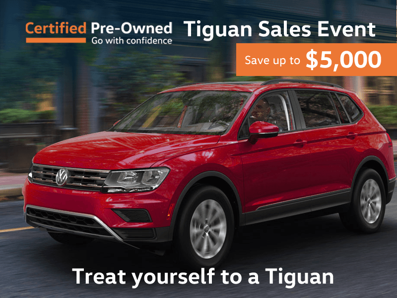 Tiguan Clearout